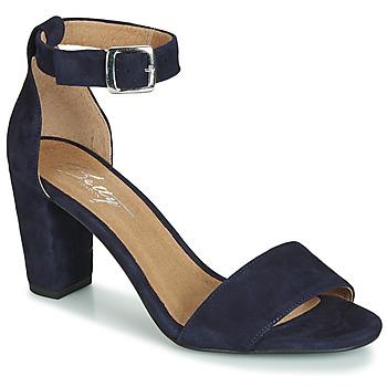Pantofi Femei Sandale și Sandale cu talpă  joasă Betty London CRETOLIA Bleumarin