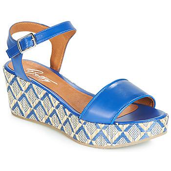 Pantofi Femei Sandale și Sandale cu talpă  joasă Betty London JIKOTERE Albastru