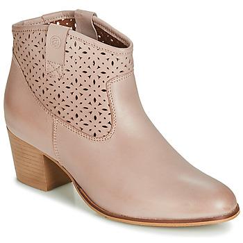 Pantofi Femei Botine Betty London JIKOTEVE Taupe