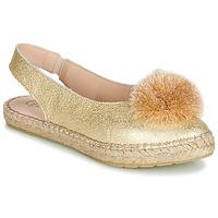 Pantofi Femei Balerin și Balerini cu curea Betty London JIKOTI Auriu