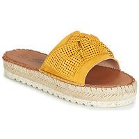 Pantofi Femei Papuci de vară Betty London JIKOTIGE Galben