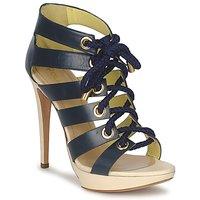 Încăltăminte Femei Sandale și Sandale cu talpă  joasă Pollini PA1609CC1V Albastru