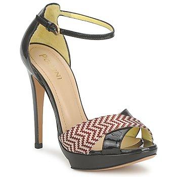 Încăltăminte Femei Sandale și Sandale cu talpă  joasă Pollini PA1638CC1V  cuoio-rosso
