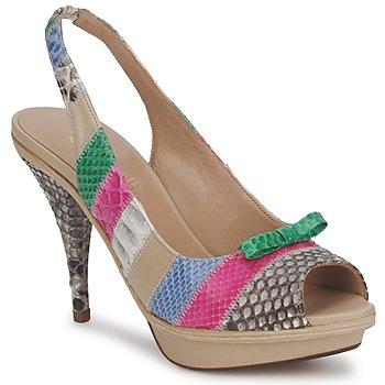 Pantofi Femei Sandale și Sandale cu talpă  joasă Fericelli NIADIK  multicolor