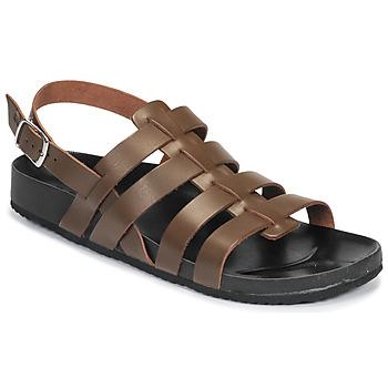 Pantofi Bărbați Sandale și Sandale cu talpă  joasă Dream in Green JAKALBERT Maro