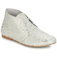 Pantofi Femei Ghete Ippon Vintage HYP ARY Alb / Argintiu
