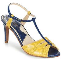 Pantofi Femei Sandale și Sandale cu talpă  joasă Ippon Vintage DROP BACK Bleumarin / Galben