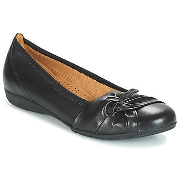 Pantofi Femei Balerin și Balerini cu curea Gabor MATILDA Negru