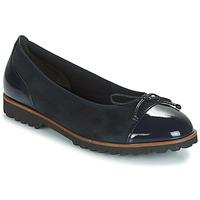 Pantofi Femei Balerin și Balerini cu curea Gabor CAROLINA Bleumarin
