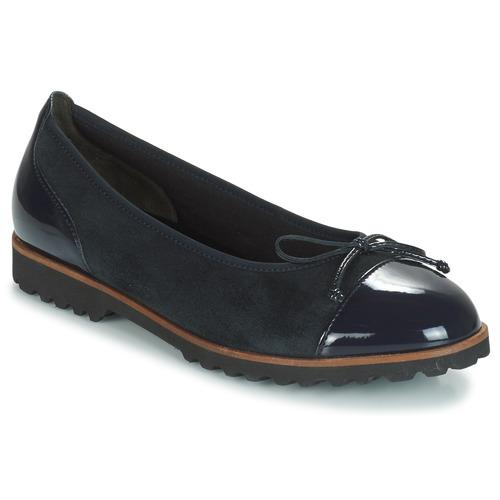 Pantofi Femei Balerin și Balerini cu curea Gabor CAROLINA Albastru