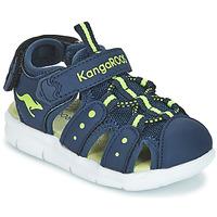 Pantofi Copii Sandale și Sandale cu talpă  joasă Kangaroos K-MINI Bleumarin / Galben