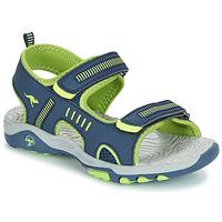 Pantofi Copii Sandale și Sandale cu talpă  joasă Kangaroos K-LOGAN Bleumarin / Verde