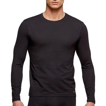 Îmbracaminte Bărbați Tricouri cu mânecă lungă  Impetus 1368898 020 Negru