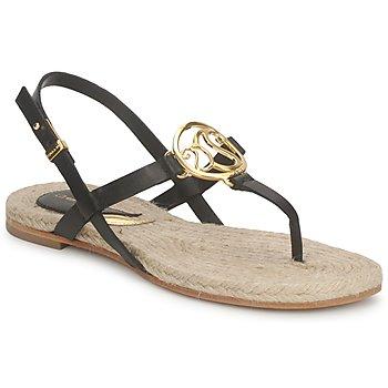 Încăltăminte Femei Sandale și Sandale cu talpă  joasă Etro 3426 Negru
