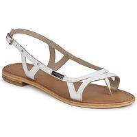 Pantofi Femei Sandale  Les Tropéziennes par M Belarbi ISATIS Alb