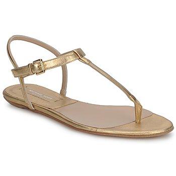 Pantofi Femei Sandale  Michael Kors MK18017 Gold