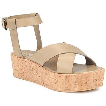 Încăltăminte Femei Sandale și Sandale cu talpă  joasă Michael Kors MK18132  sand
