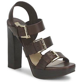 Pantofi Femei Sandale  Michael Kors MK18071 Cafea