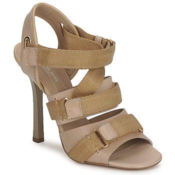 Încăltăminte Femei Sandale și Sandale cu talpă  joasă Michael Kors MK118113 Desert / Bej