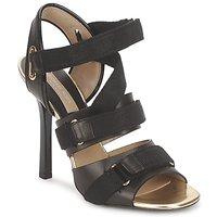 Încăltăminte Femei Sandale și Sandale cu talpă  joasă Michael Kors MK118113 Negru