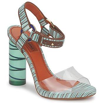 Încăltăminte Femei Sandale și Sandale cu talpă  joasă Missoni TM63 Apa