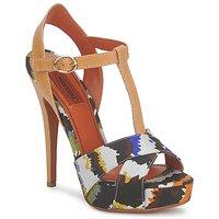Încăltăminte Femei Sandale și Sandale cu talpă  joasă Missoni TM69  multicolor