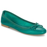 Pantofi Femei Balerin și Balerini cu curea André PIETRA Verde