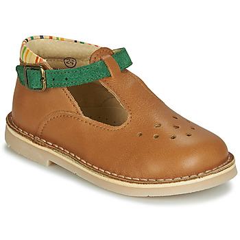 Pantofi Băieți Sandale  André SUNSET Camel
