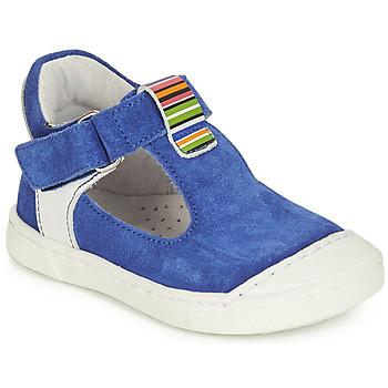 Pantofi Fete Balerin și Balerini cu curea André BELUGA Albastru