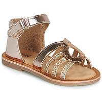 Pantofi Fete Sandale și Sandale cu talpă  joasă André LEÏA Auriu