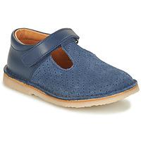 Pantofi Fete Balerin și Balerini cu curea André MARIN Albastru