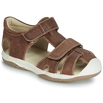 Pantofi Băieți Sandale  André CHALOUPE Maro