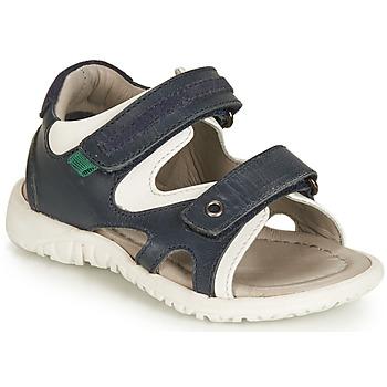 Pantofi Băieți Sandale  André HAMAC Albastru