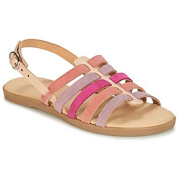 Pantofi Fete Sandale și Sandale cu talpă  joasă André INDRA Roz
