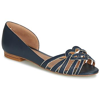 Pantofi Femei Balerin și Balerini cu curea André CHRISTIE Bleumarin