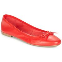 Pantofi Femei Balerin și Balerini cu curea André PIETRA Roșu