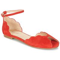 Pantofi Femei Sandale  André SERINGAT Roșu