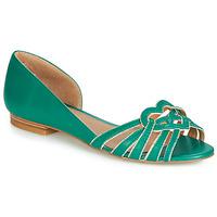 Pantofi Femei Balerin și Balerini cu curea André CHRISTIE Verde
