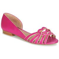 Pantofi Femei Balerin și Balerini cu curea André CHRISTIE Roz