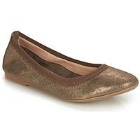 Pantofi Femei Balerin și Balerini cu curea André CARLARA Bronz