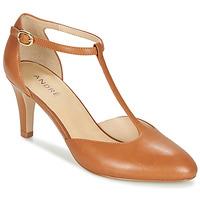 Pantofi Femei Pantofi cu toc André FALBALA Camel