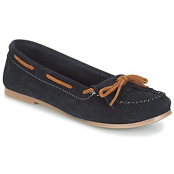 Pantofi Femei Mocasini André REE Albastru
