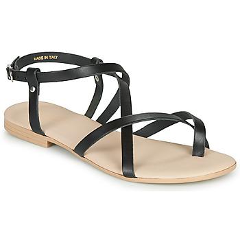 Pantofi Femei Sandale și Sandale cu talpă  joasă André RAFFOLE Negru