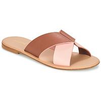 Pantofi Femei Papuci de vară André CRYTELLE Maro