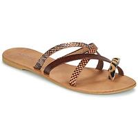 Pantofi Femei Papuci de vară André RYE Maro