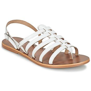 Pantofi Femei Sandale și Sandale cu talpă  joasă André ROSIANE Alb