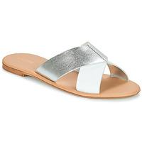 Pantofi Femei Papuci de vară André CRYTELLE Alb