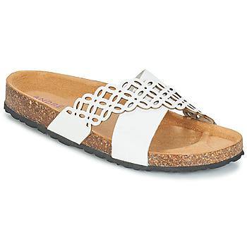 Pantofi Femei Papuci de vară André ROULADE Alb