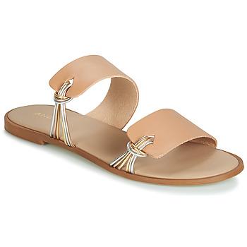 Pantofi Femei Sandale  André SOLENA Bej