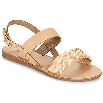 Pantofi Femei Sandale și Sandale cu talpă  joasă André RAMATUELLA Bej